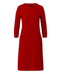 Olsen Red Shift Dress