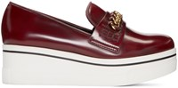 Stella Mccartney Burgundy Binx Loafers