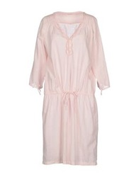 Massimo Alba Short Dresses Light Pink