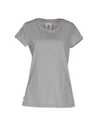 Franklin And Marshall Topwear T Shirts Women Grey