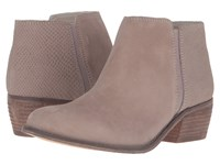 Dune Penelope Taupe Suede Reptile Women's Boots