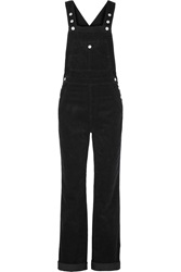 Alexa Chung For Ag Jeans The Bunny Cotton Corduroy Overalls