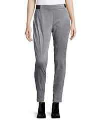 Calvin Klein Sueded Leggings Silver