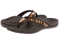 Vionic With Orthaheel Technology Tide Ii Brown Leopard Women's Sandals Animal Print