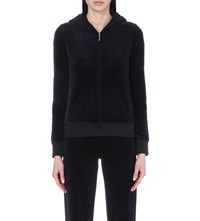 Juicy Couture Jewel Embellished Velour Jacket Regal