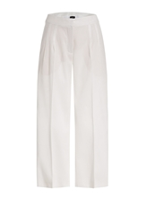Akris Cotton Linen Cropped Pants