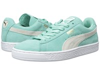 Puma Suede Classic Wn's Holiday White Women's Shoes Green