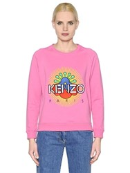 Kenzo Sun Brushed Cotton Jersey Sweatshirt