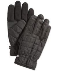 Timberland Quilted Touchscreen Gloves Black