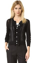 Marc Jacobs Lace Stitch Cardigan Black