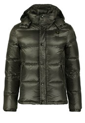Blauer Down Jacket Grigio Piombo Grey