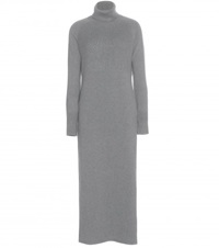 Loro Piana Fairmont Cashmere Sweater Dress Grey