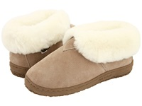 Old Friend Bootee Ladies Chestnut W Natural Fleece Women's Shoes Beige