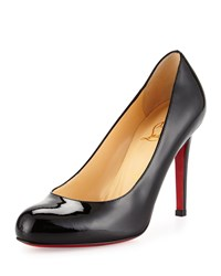 Christian Louboutin Decollette Pointed Toe Red Sole Pump Black Women's Size 42.0B 12.0B