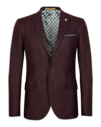 Lousjak Wool Blazer Red