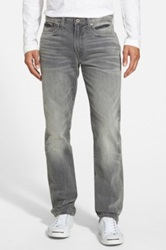 Lucky Brand '121 Heritage' Slim Fit Jeans Gray