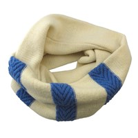 Hcr Arrows Loop Scarf Blue