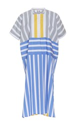Thierry Colson Pompon Nautical Stripes Kaftan