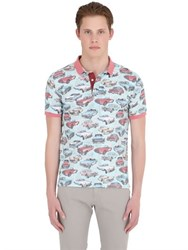 Bob Strollers Cadillac Printed Cotton Jersey Polo