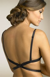 Women's Nordstrom Intimates Low Back Strap 1 Hook Bra Attachment Black