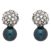 Finesse Freshwater Pearl Stud Earrings Blue