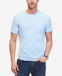 Nautica T Shirt Solid Anchor T Shirt Noon Blue