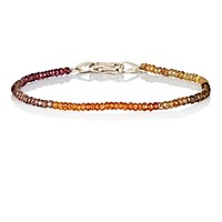 Suzanne Felsen Men's Aquamarine Beaded Bracelet Brown