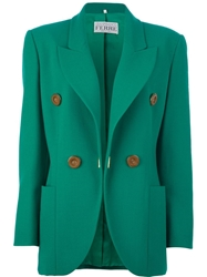 Gianfranco Ferre Vintage Skirt Suit Green