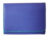 Lodis Audrey Mallory French Purse Violet Lake Wallet Handbags Blue