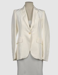 New York Industrie Suits And Jackets Blazers Women Ivory