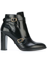 Tommy Hilfiger Buckle Detail Ankle Boots Blue
