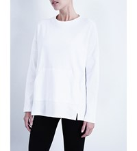 Whistles Relaxed Sweatshirt White