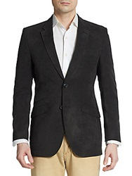 English Laundry Regular Fit Twill Sportcoat Black