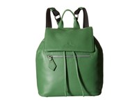 Vivienne Westwood Leather Backpack Green Backpack Bags