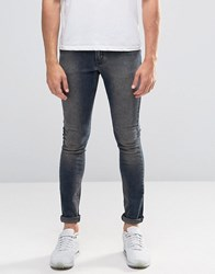 Asos Extreme Super Skinny With Dirty Blue Tint Dirty Blue