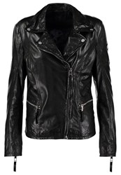 Gipsy Nahla Leather Jacket Black