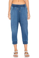 Stateside Indigo French Terry Sweatpant Blue