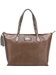Hogan Shopper Tote Brown
