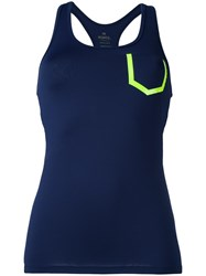 Monreal London Racerback Tank Top Blue