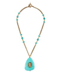 Stephen Dweck Turquoise Drop Necklace Women's