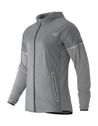 New Balance Merino Performance Hybrid Jacket Athletic Grey