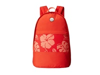 Roxy Anchor Point Backpack Fiery Orange Tropical Border 2 Backpack Bags Red