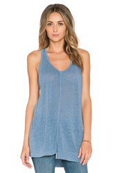 Wilt Shift Slouchy Tank Blue