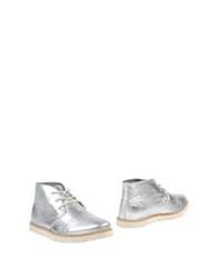 United Nude Ankle Boots Silver