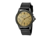Electric Eyewear Carroway Leather All Black Brass Watches