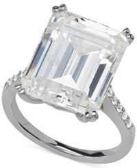 Arabella Swarovski Zirconia Statement Ring In Sterling Silver 22 7 8 Ct. T.W. Clear