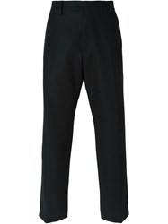 Christophe Lemaire Lemaire Straight Leg Trousers Black