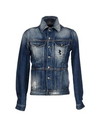 Gold Case By Rocco Fraioli Denim Denim Outerwear Men Blue