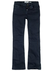 Fat Face Smith Brushed Overday Bootcut Jeans Dark Denim