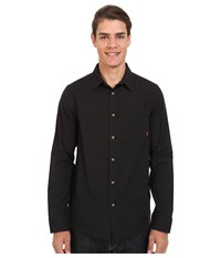 Altamont Alass Long Sleeve Woven Black Men's Clothing